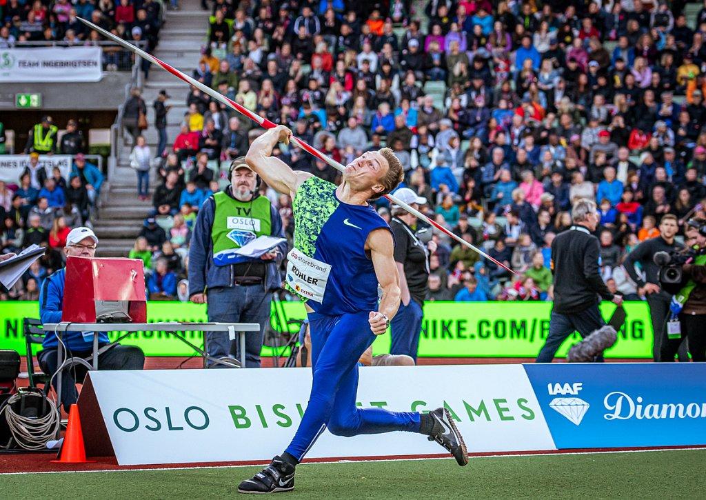 Röhler - Bislett Games 2019 - Oslo
