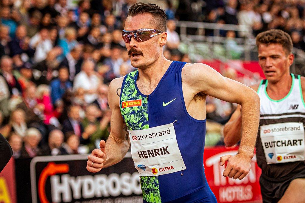 Henrik Ingebrigtsen - Bislett Games 2019 - Oslo