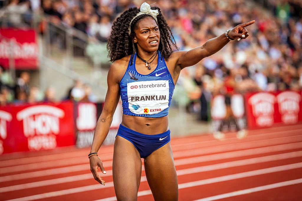 Franklin - Bislett Games 2019 - Oslo