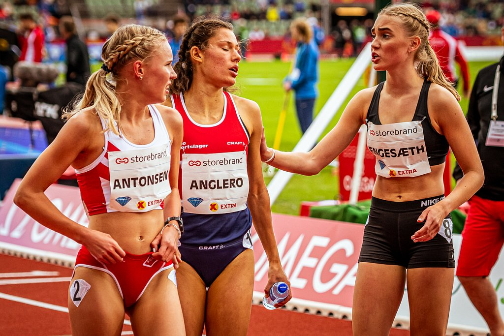 Antonsen - Anglero - Engesaeth - Bislett Games 2019 - Oslo