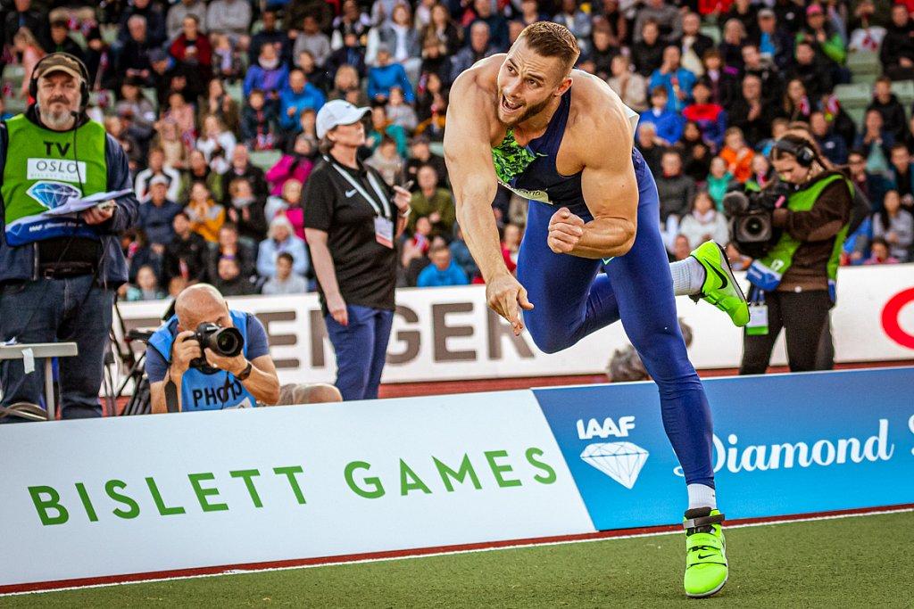 Johannes Vetter - Bislett Games 2019 - Oslo