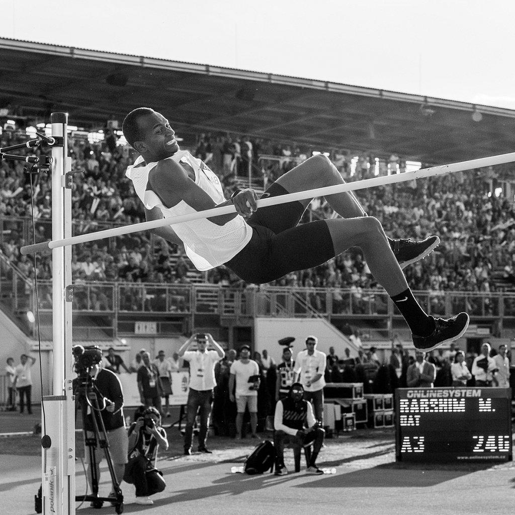 Barshim's last, failed world record attempt.