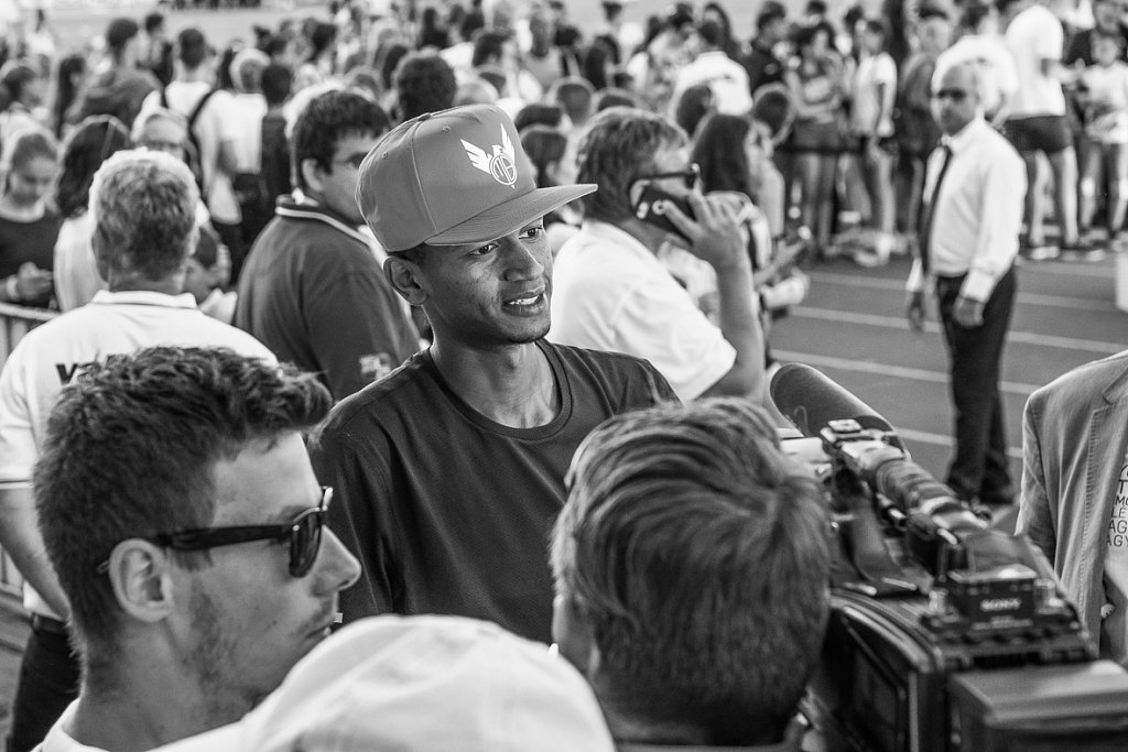 Barshim interview - Same questions, same questions!