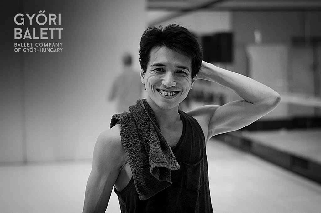 Daichi Uematsu a Győri Balett táncosa